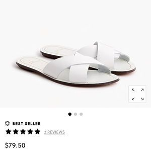 J.Crew Cyprus sandals slippers size 8